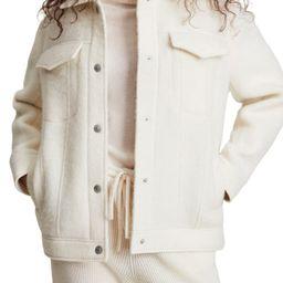 Faye Wool Blend Jacket   Nordstrom