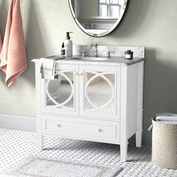 "Pancoastburg 36"" Single Bathroom Vanity Set | Wayfair North America"