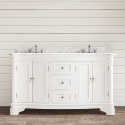 "Rayshawn 60"" Double Bathroom Vanity Set | Wayfair North America"