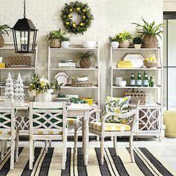 Ceylon Whitewash Rectangular Dining Table | Ballard Designs, Inc.