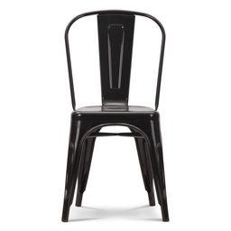 Tolix - Tolix A Chair, Black | Interior Icons