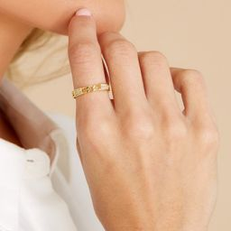 Venice Gold Ring | Red Dress