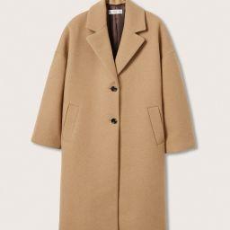 Oversize wool coat | MANGO (US)