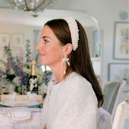 x Nicola Bathie Sarah Pearl Headband | Dillards