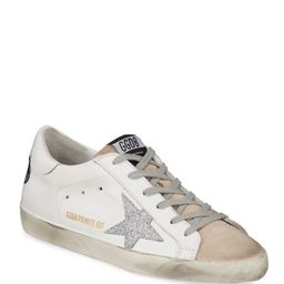 Golden Goose Superstar Bow Lace-Up Sneakers | Neiman Marcus