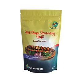 FULBE FRESH (HOT SUYA YAJI) 8oz *Suya spice blend is a roasted peanut based spice ( Kuli-kuli ) r... | Amazon (US)