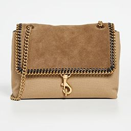 Edie Flap Shoulder with Woven Chain   Shopbop
