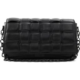 Wynonna Woven Faux Leather Flap Shoulder Bag | Nordstrom | Nordstrom