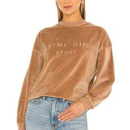 ANINE BING Sport Evan Sweatshirt in Taupe from Revolve.com   Revolve Clothing (Global)