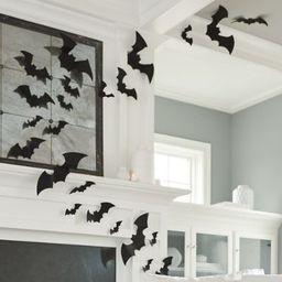Assorted Felt Bats, Set of 12 | Grandin Road | Grandin Road