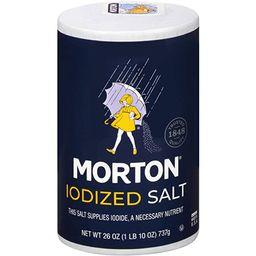 Morton Salt, Iodized, 26 Ounce | Amazon (US)