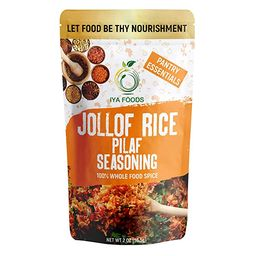 Iya Foods Jollof Rice Seasoning 5 oz Bag. Made with Herbs, Peppers & Honey. Free from MSG or Anyt... | Amazon (US)