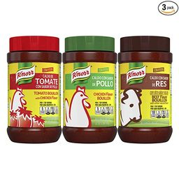 Knorr Beef/Chicken/Tomato With Chicken Bouillon For Sauces, Soups And Stews Mixed Variety Pack Fa... | Amazon (US)