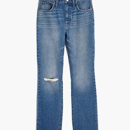 Slim Demi-Boot Jeans in Danville Wash: Ripped Edition | Madewell