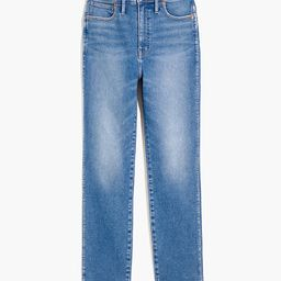 Curvy Stovepipe Jeans in Ditmas Wash | Madewell