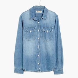 Denim Button-Up Shirt in Bluffton Wash | Madewell