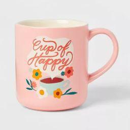 16oz Stoneware Cup of Happy Mug - Opalhouse™ | Target