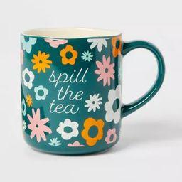 16oz Stoneware Spill The Tea Mug - Opalhouse™ | Target