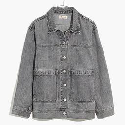 Denim Patch Pocket Trucker Jacket in Noll Wash | Madewell