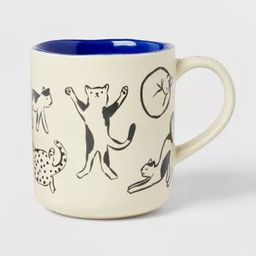 16oz Stoneware Cat Person Mug - Opalhouse™ | Target