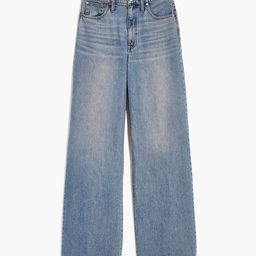 Superwide-Leg Jeans in Eastchester Wash | Madewell