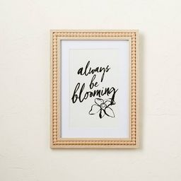 """12"""" x 16"""" Always Be Blooming Framed Wall Art - Opalhouse™ designed with Jungalow™ 