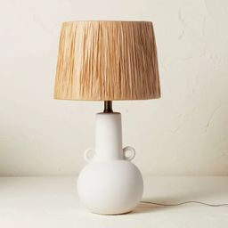 Double Handle Ceramic Table Lamp (Includes LED Light Bulb) - Opalhouse™ designed with Jungalow... | Target