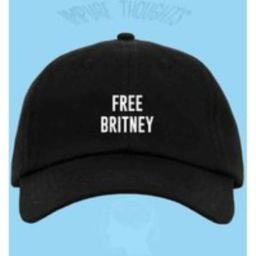 Free Britney Hat Embroidered Baseball Cap Low Profile Custom Strap Back Unisex Adjustable Cotton Pin | Etsy (US)