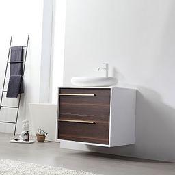 "Glasgow Floating Single Bathroom Vanity (30"")   West Elm (US)"