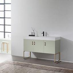 """Pember Single Bathroom Vanity (48"""")   West Elm (US)"""