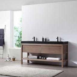 "Glenn Double Bathroom Vanity (72"")   West Elm (US)"