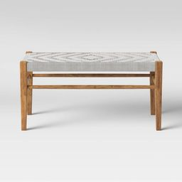 Lumarco Woven Bench Natural - Opalhouse™ | Target