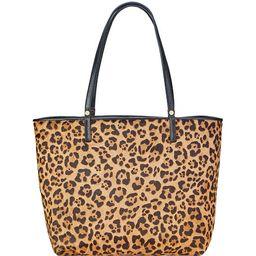 Gigi New York Tori Leopard-Print Tote Bag   Neiman Marcus