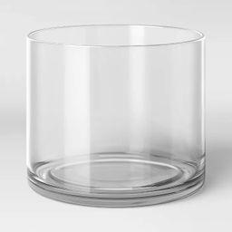 "8"" x 6"" Glass Vase - Threshold™ | Target"