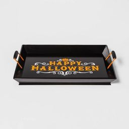 Happy Halloween Wood Decorative Tray - Hyde & EEK! Boutique™ | Target