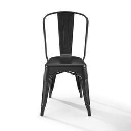 Matte Black Metal Josiah Dining Chairs Set Of 2 | World Market