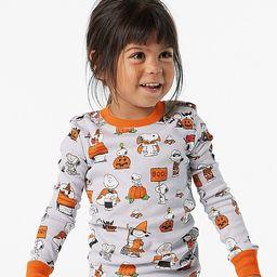Peanuts® Halloween Organic Pajama Set   Pottery Barn Kids
