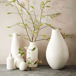 Pure White Ceramic Vases | West Elm (US)