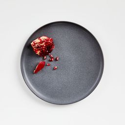 Wren Grey Salad Plate + Reviews | Crate and Barrel | Crate & Barrel