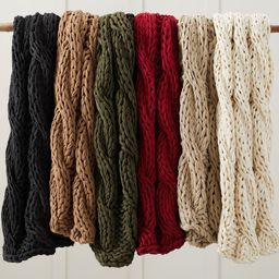 Colossal Handknit Throws | Pottery Barn (US)