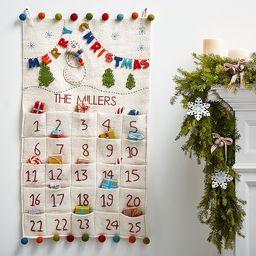 Merry & Bright Advent Calendar | Pottery Barn Kids