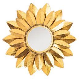 Safavieh Larcen Wall Mirror in Gold   Bed Bath & Beyond   Bed Bath & Beyond