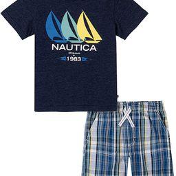 Nautica baby-boys 2 Pieces Shorts Set | Amazon (US)