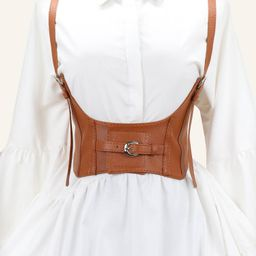 Metal Buckle Corset Harness Belt   SHEIN