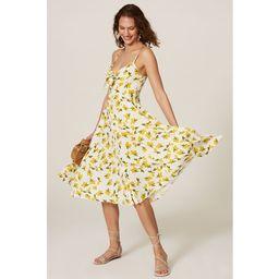 Yumi Kim Pretty Women Dress yellow-print | Rent the Runway