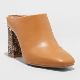 Women's Paula Mule Heels - A New Day™ | Target