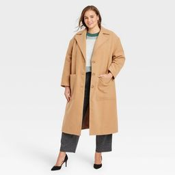Women's Relaxed Fit Top Overcoat - A New Day™   Target