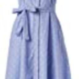 Tommy Hilfiger Women's Cotton Shirt Dress, Dutch Blue/Ivory, 2 | Amazon (US)