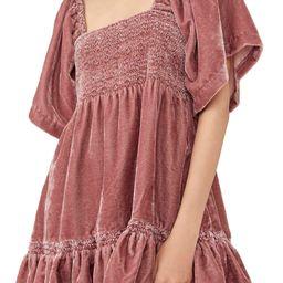 Easy to Love Velvet Minidress | Nordstrom