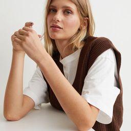 Ribbed Sweater Vest | H&M (US)